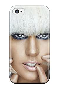 Hot Snap-on Lady Gaga Music People Music Hard Cover Case/ Protective Case For Iphone 4/4s wangjiang maoyi