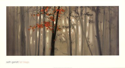 Fall Foliage Art Print Poster by Steven Garrett
