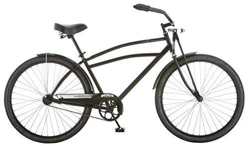 Schwinn Men's Swindler Cruiser Bicycle 18/Medium Black [並行輸入品] B06XFD4CKZ