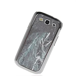 MOONCASE Luxury Chrome Plated Style Devise Hard Back Case Cover for Samsung Galaxy S III S3 GT I9300 Green 607