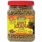Zoo Med Laboratories SZMZM85 Iguana Adult Soft-Moist Pellets, 10-Ounce