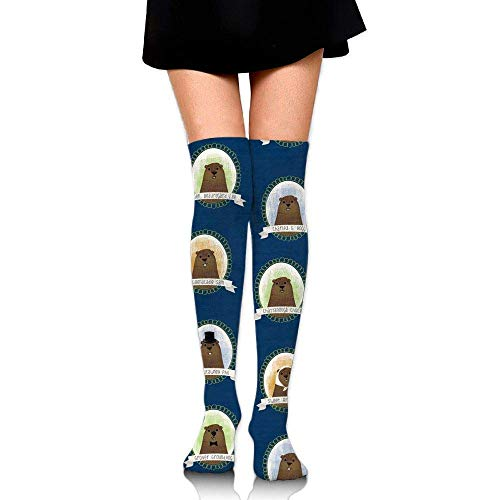 Girl's Ladies Tube Stockings Cute Famous Groundhogs for sale  Delivered anywhere in Canada