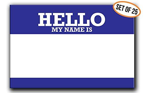 Buttonsmith Reusable Pinback Name Tag