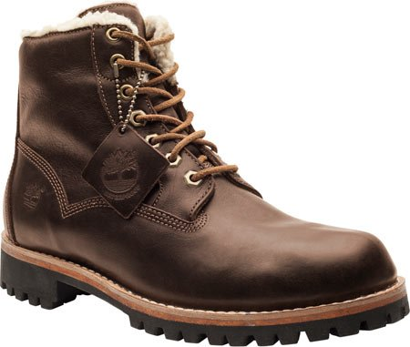 Timberland eK pour homme heritage lined lined boots 6555A 6, 44, uK 9,5 (marron foncé)