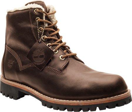 Timberland Mens EK Heritage Lined 6 In Lined Boots 6555A, EU 44, UK 9.5 dark brown