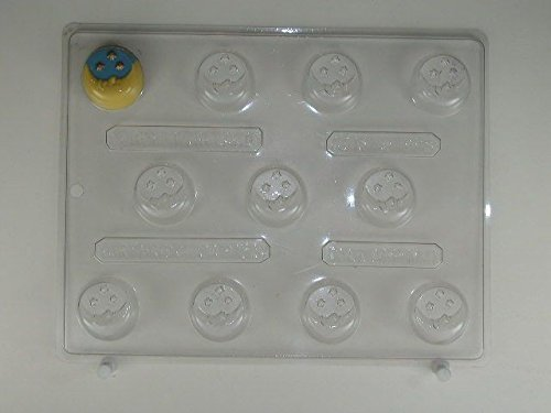 Small Moon w/ Stars mint AO137 All Occasion Chocolate Candy Mold