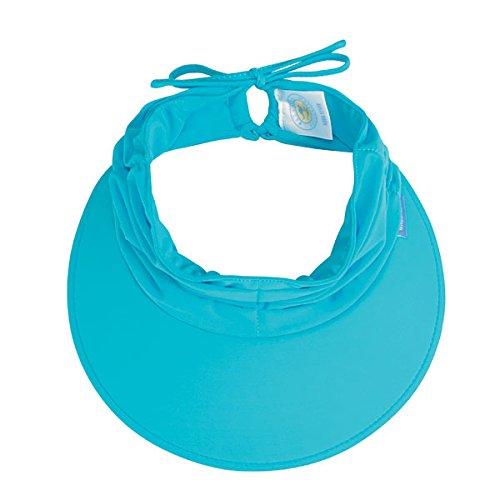 Wallaroo Women's Aqua Sun Visor - Quick-Drying Lightweight Sun Hat, Navy