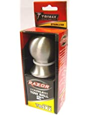 Trimax TBSX2 2-Inch Tow Ball Stainless Steel