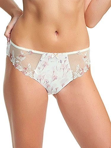 Fantasie Women's Alicia Brief, Ivory, (Embroidered Nylon Briefs)