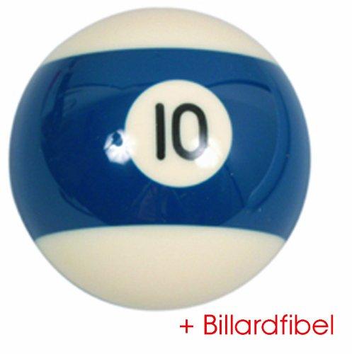 Bille de Billard Americain Pool no.10 diamètre 57,2mm 2-1/4'