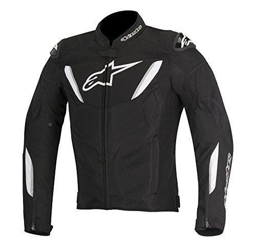 Alpinestars T-GP R Air Men's Street Motorcycle Jackets - Black/White / X-Large