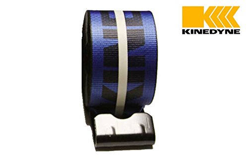 4' x 30' Winch Strap with Flat Hook - Kinedyne, Blue Mytee Products