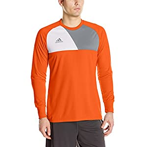 adidas Men's Soccer Assita 17 Goalkeeper Jersey, Orange, Medium