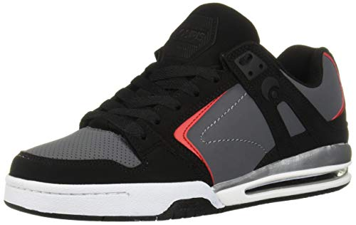 Osiris Men's PXL Skate Shoe, red/Black, 8 M US
