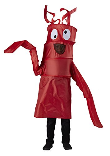 Wacky Waving Arm Flailing Tube Dancer Costume Red - Medium 8-10]()