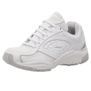 Saucony Women's Grid Integrity Walking Shoe,White/Silver,5 M