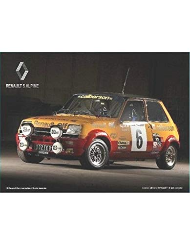 Alpine La Plaque Publicitaire Renault 5