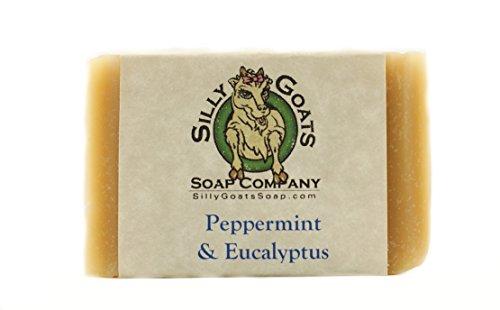 Handmade Goats Milk, 'Peppermint  Eucalyptus' Soap