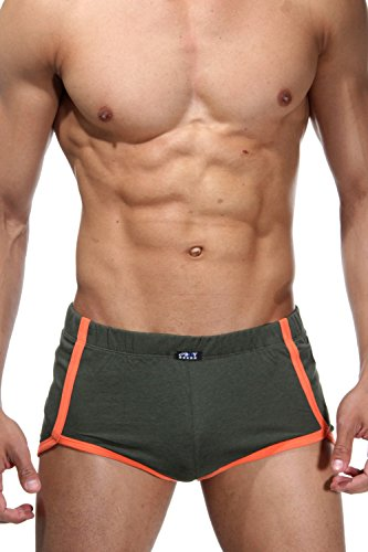 OBOY Sprintershorts (olive/orange)