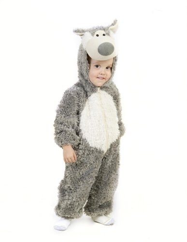 Princess Paradise Baby Boys' Big Bad Wolf Deluxe Costume, As Shown, (Infant Halloween Costumes Wolf)