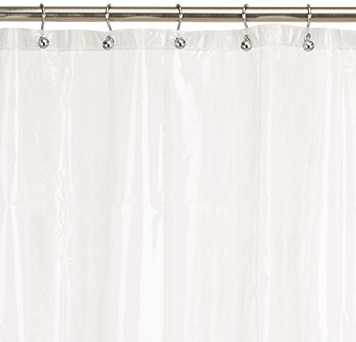 Excell Home Fashions Eco Soft PEVA Shower Curtain Liner (Excell Eco Soft Peva Shower Curtain Liner)