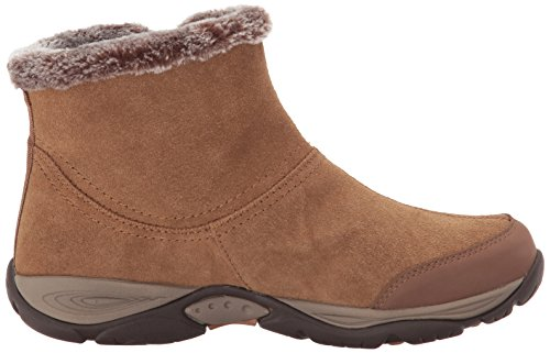 US US UK Toe Closed Womens Easy Size Fabric Brown 4 Cold Spirit eliria 0 6 Weather Ankle qZCHa