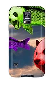 GefOpfq10535dkCMs Tpu Phone Case With Fashionable Look For Galaxy S5 - Panda Artistic