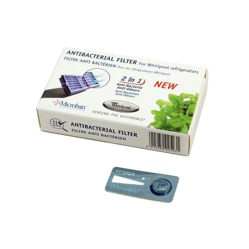 Original WHIRLPOOL Kühlschrank (Gefrierschrank, Antibakterielle Filter)