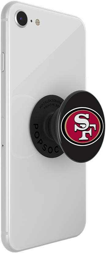 PopSockets NFL Atlanta Falcons Logo PopGrip with Swappable Top for Phones /& Tablets