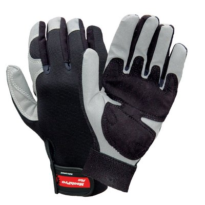 Y7711XL - MechPro Plus, with Synthetic Leather Palm - MechPro Utility Gloves, Wells Lamont - Pack of 12