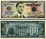SET OF 10-Barack Obama Collectible 2008 Novelty Bill