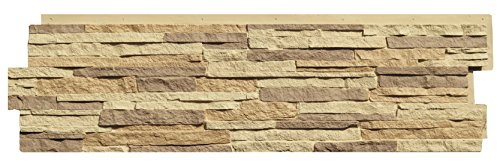 NextStone Stacked Stone Panel Carolina Cocoa 5 Panels Per Box1815 SqFt Per Box