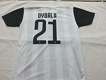 Camiseta de Fútbol PAULO DYBALA 21 Juventus NUEVA Temporada 2017-2018 Replica OFICIAL con LICENCIA - Todos Los Tamaños NIÑO y ADULTO (2 AÑOS): Amazon.es: ...