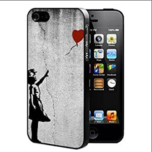 Banksy Balloon Girl There Is Always Hope Hard Snap On Cell Phone Case Cover (iPhone 4 4s)