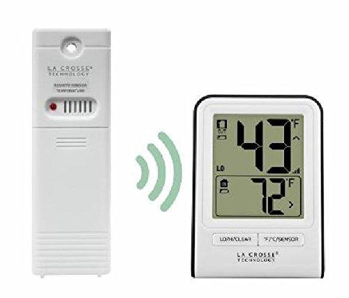 La Crosse Technology Wireless Thermometer - White