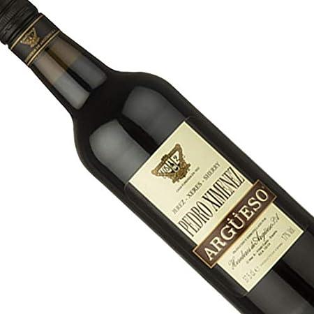 Vino dulce Pedro Ximenez Argüeso de 75 cl - D.O. Jerez-Sherry - Bodegas Argüeso (Pack de 1 botella)