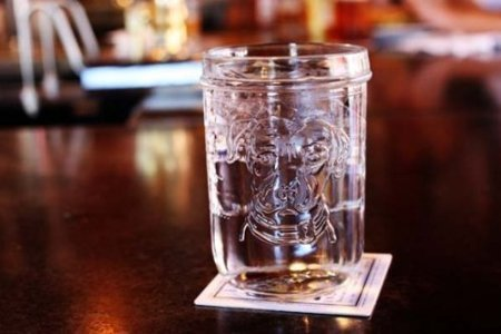 Lagunitas Mason Jar Pint Glasses - Set of