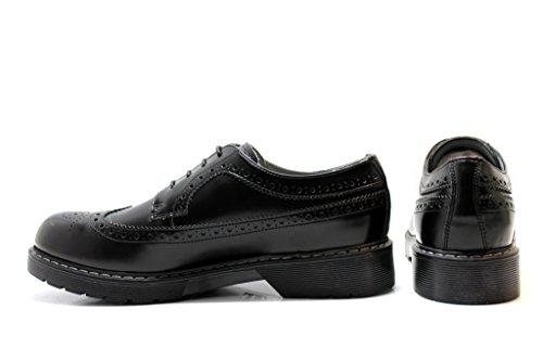 ville à de Nero Noir Giardini Chaussures garçon lacets Junior pour wSwaqI