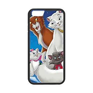 iPhone 6 Plus 5.5 Inch Cell Phone Case Covers Black AristoCats Plastic Phone Case Protective XPDSUNTR26663