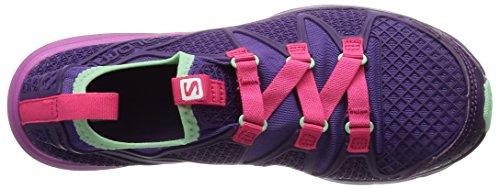 Salomon Womens Crossamphibian W Outdoor Watershoe Rain Purple / Cosmic Purple / Hot Pink