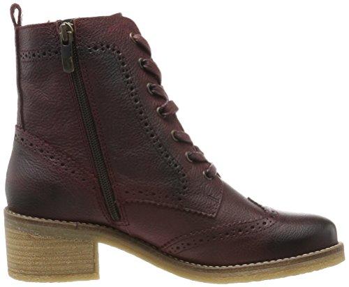 549 Red Women's Boots Bordeaux Combat Be Natural 25200 xZ6wAxq0