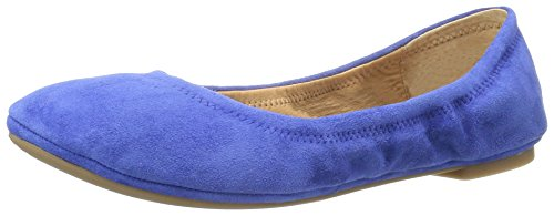 Lucky Canyon Lk Floral Emmie Women's Royal Blue Brand Medium Print Flat Ballet Rose SqrTS