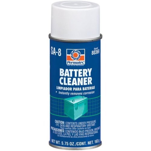 Permatex 80369 Battery Cleaner (12/5Oz) by Permatex