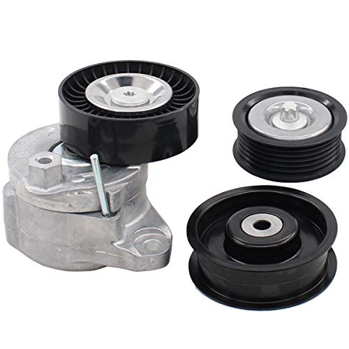 (NewYall Drive Belt Tensioner with 2 Idler)
