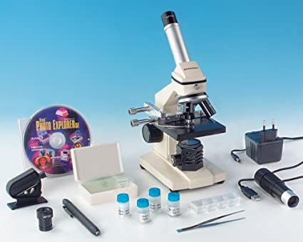 Bresser biolux dlx st mikroskop dlx lichtgrau amazon