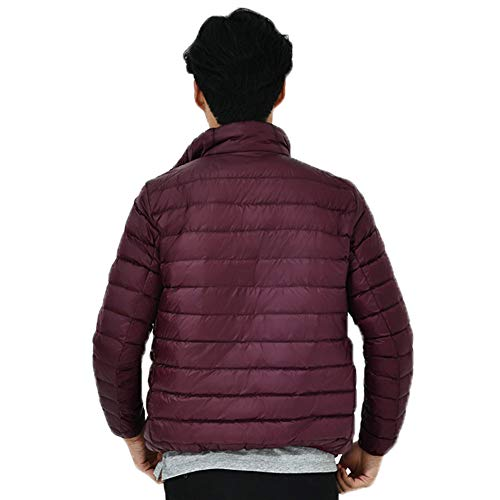 Quality Flying Coat Symmetrical Leather Warm Red Zipper Slim Slim Blouse Premium Men's Tactical Slim Stand Long Imitation Collar Sleeve Outdoors Wind Jacket Motorcycle wCztnqT