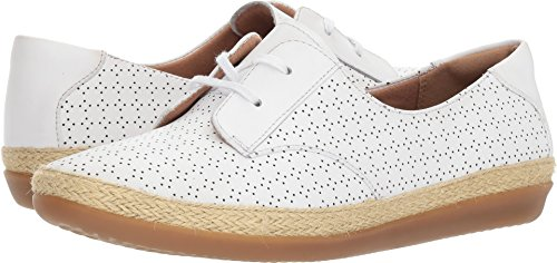 9 White Danelly Leather CLARKS Millie US B Women's wq4AHgaT