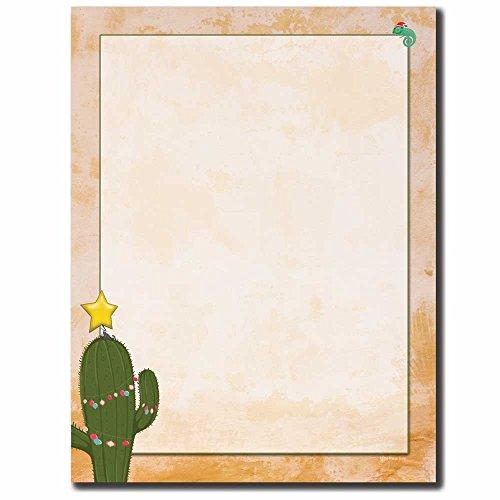 Christmas Cactus Letterhead Laser & Inkjet Printer Paper, ()