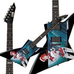 Esp Ltd Ex Avatar Custom Graphic Electric Guitar No Case