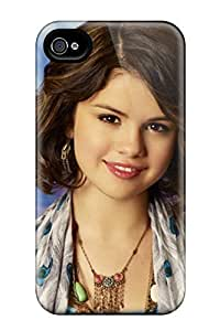 Excellent Design Selena Gomez Short Bob Haircut Case Cover For Iphone 4/4s